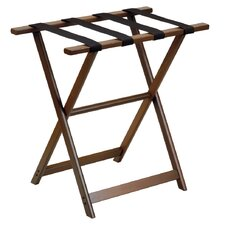 <strong>Gate House Furniture</strong> 1250 Series Tall Straight Leg Luggage Rack