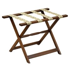 <strong>Gate House Furniture</strong> 1260 Series Straight Leg Luggage Rack