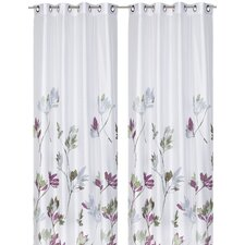 Elemental Eyelet Single Panel Curtain