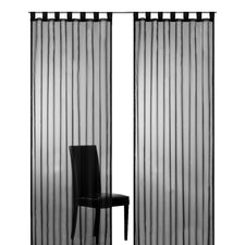 Plana Tab Top and Gathering Tape Curtain Panel