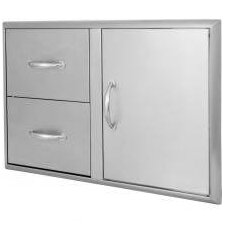 Access Door and Double Drawer Combo