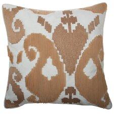 Romance Ikat Square Linen Pillow