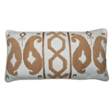 Romance Ikat Rectangular Linen Pillow