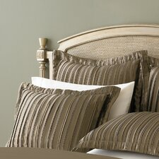 <strong>Trans-Sino Co.</strong> Pleated Satin Sham (Set of 2)