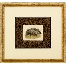Dickes Rhinoceros Framed Art