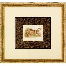 Dickes Tiger Framed Art