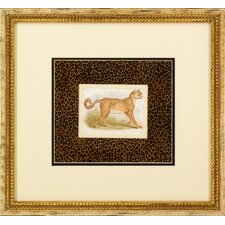 Dickes Leopard Framed Art