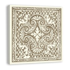 <strong>Melissa Van Hise</strong> Tiles in Mocha IV Canvas Art