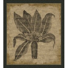 Flora on Linen IV Wall Art