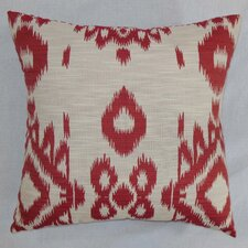 <strong>The Pillow Collection</strong> Gaera Ikat Cotton Pillow