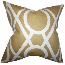 Whit Geometric Pillow