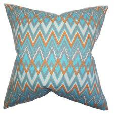 Forsythia Geometric Pillow