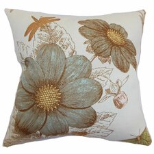 <strong>The Pillow Collection</strong> Mareeba Floral Cotton Pillow