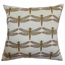 <strong>The Pillow Collection</strong> Nkan Dragonfly Cotton Pillow