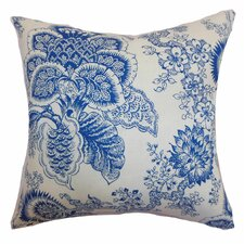 <strong>The Pillow Collection</strong> Paionia Floral Linen Pillow