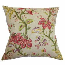 <strong>The Pillow Collection</strong> Quesnel Floral Linen Pillow