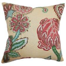 Samarinda Floral Linen Pillow