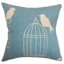 <strong>The Pillow Collection</strong> Alconbury Birds Linen Pillow