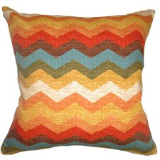 <strong>The Pillow Collection</strong> Gail Zigzag Cotton Pillow