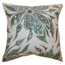 <strong>The Pillow Collection</strong> Baiamare Floral Cotton Pillow