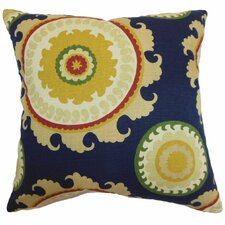 Obyan Geometric Cotton Pillow