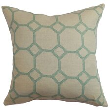 <strong>The Pillow Collection</strong> Kaleph Tile Cotton / Linen Pillow