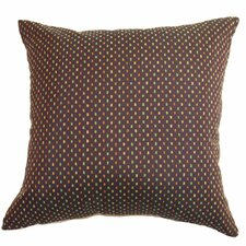 <strong>The Pillow Collection</strong> Landon Dots Cotton / Polyester Pillow