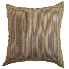 Mace Stripes Raw Silk Pillow