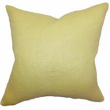 Idalya Plain Linen Pillow