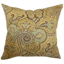 <strong>The Pillow Collection</strong> Saewara Paisley Cotton Pillow