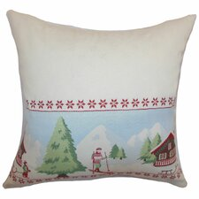 <strong>The Pillow Collection</strong> Florina Holiday Cotton Pillow