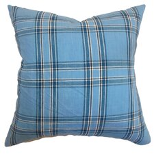 Caravelas Plaid Pillow