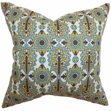 <strong>The Pillow Collection</strong> Yelimane Geometric Cotton Pillow