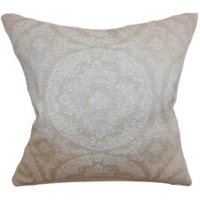 <strong>The Pillow Collection</strong> Ailigandi Floral Cotton Pillow