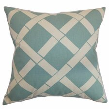 <strong>The Pillow Collection</strong> Marianske Geometric Cotton Pillow