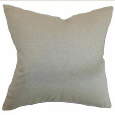Napperby Solid Cotton Pillow
