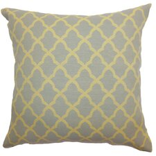 Rametta Moorish Tile Wool / Cotton Pillow