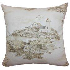 Zamiana Toile Cotton Pillow