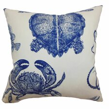 <strong>The Pillow Collection</strong> Emilia Animals Cotton Pillow