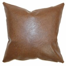 Airlie Faux Leather Pillow