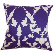 <strong>The Pillow Collection</strong> Fakahina Damask Cotton Pillow