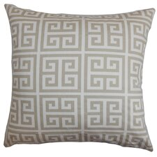 Paros Greek Key Pillow