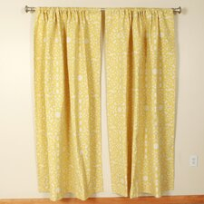 Sunshine Rod Pocket Curtain Single Panel
