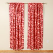 Dots Rod Pocket Curtain Single Panel