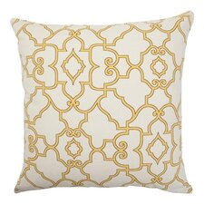<strong>The Pillow Collection</strong> Macca Moorish Tile Cotton Pillow