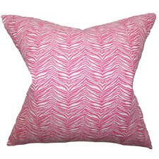 <strong>The Pillow Collection</strong> Themis Zebra Print Pillow