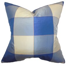 Keats Plaid Pillow