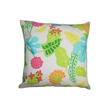 <strong>The Pillow Collection</strong> Gamila Floral Outdoor Pillow