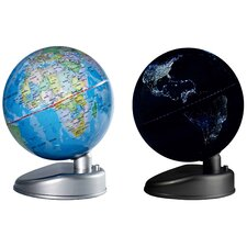 Earth by Day and Night Globe