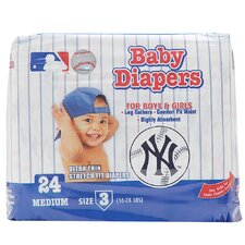 New York Yankees Supreme Disposable Baby Diaper